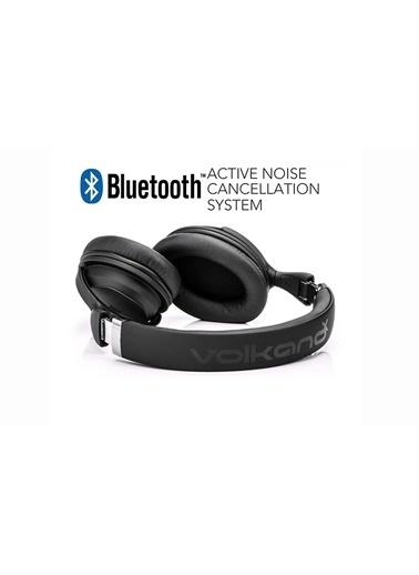 Volkano Aktif Gürültü Önleyici Bluetooth Kulaklık Active Noise Cancelling Siyah Siyah
